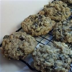 Oatmeal Banana Raisin Coconut Cookies Recipe