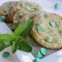 Creme de Menthe Chocolate Chip Cookies Recipe