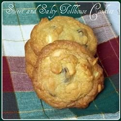 Sweet and Salty Toll House Cookies