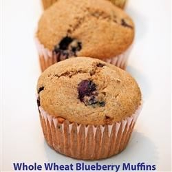 Whole Wheat Blueberry Muffins Recipe