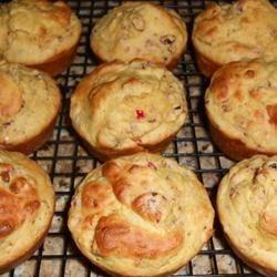 Gluten-Free Cranberry-Orange Muffins