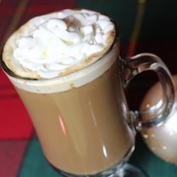 Quick Gingerbread Latte Recipe