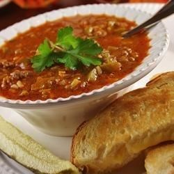 Stuffed Pepper Soup II Recipe