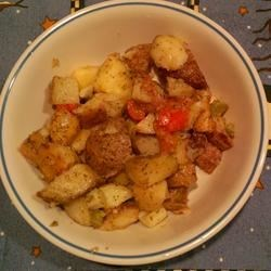 Roasted Potato Salad with Vinaigrette Recipe