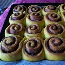 Chef John's Pumpkin Cinnamon Rolls Recipe