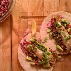 Photo of Blackened Tilapia Fish Tacos by Jenn