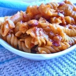 Tomato and Bacon Pasta Bake