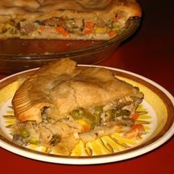 Grandma Carlson's Turkey Pot Pie Recipe
