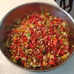 Zesty Hoppin John Salad Recipe