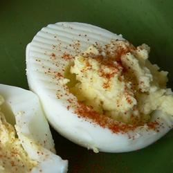 Photo of Cajun Deviled Eggs by Denyse