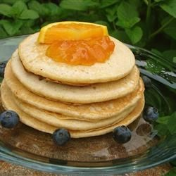 Photo of Orange Whole Wheat Pancakes by Earl  Brunner