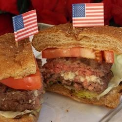 Star-Spangled Burgers Recipe