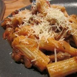 Sicilian Lentil Pasta Sauce Recipe
