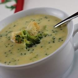 Broccoli Cheese Soup V