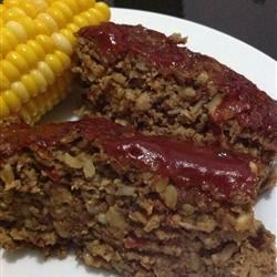 Vegetarian Mushroom-Walnut Meatloaf Recipe