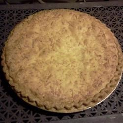 Easy Coconut Macaroon Pie Recipe