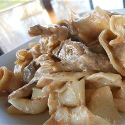 Tonya's Rich and Creamy Beef Stroganoff Recipe