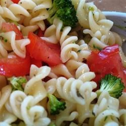 Italian Dressing in  Pasta Salad