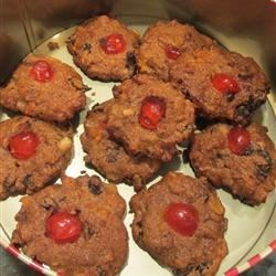 Delicious Whole Wheat Fruitcake Cookies Recipe