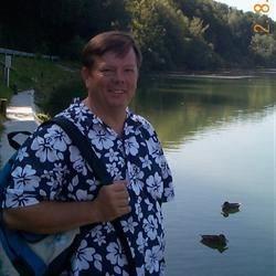 Dave at the Isar
