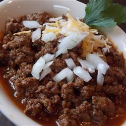 Mr. Mason's Chili Recipe