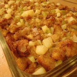Potato Sausage Stuffing Recipe