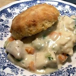 Cream of Chicken and Biscuits Recipe