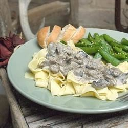 Thick and Rich Venison Stroganoff