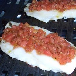 Orange Roughy with Montreal Salsa