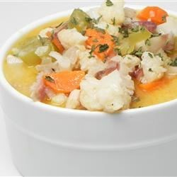 Nichole's Chicken Cauliflower Soup Recipe