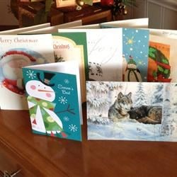 AR Christmas card exchange 2012!
