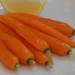 Lemon Honey Glazed Carrots
