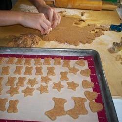 Birthday Bones Dog Cookies