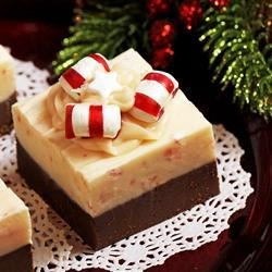 Never Ever Fail Peppermint and Chocolate Fudge