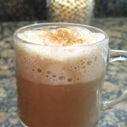 Pumpkin Spice Hot Chocolate |