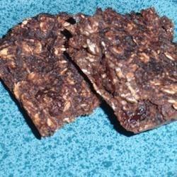 honey spiced granola bars printer friendly