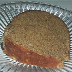Sweet Potato Wheat and Rye Bread