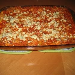 Buffalo Cheesy Chicken Lasagna Recipe