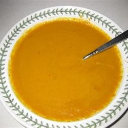 Smoked Carrot Bisque Recipe