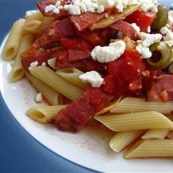 Rigatoni alla Puttanesca e Arrabbiata Recipe