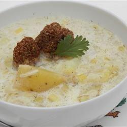 Dilled Potato Leek Chowder