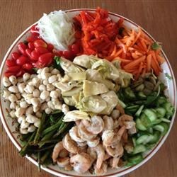 Shrimp Garden Salad Recipe