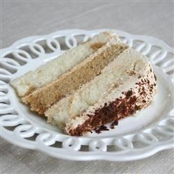Tiramisu Layer Cake (Inside)