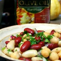 Mediterranean Three Bean Salad Recipe