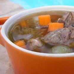 Prime Rib Soup |