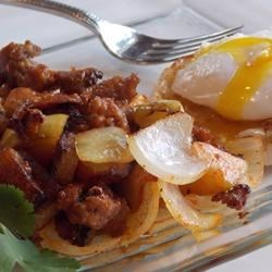 Photo of Sausage Hash With Apples & Sage by USA WEEKEND columnist Pam Anderson