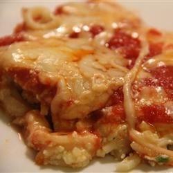 Pasghetti Pizza Recipe