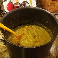 Split Pea Soup with Rosemary Recipe