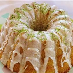Tropical Lime Cake Recipe