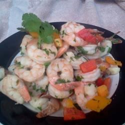 Tequila Garlic Prawns Recipe